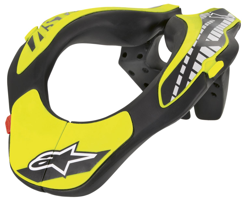 Alpinestars Nackenstütze Neck Support, schwarz/gelb