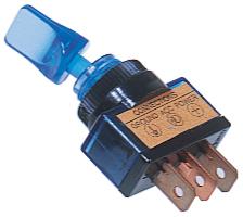 Sandtler Kipp-Schalter, beleuchtet, blau