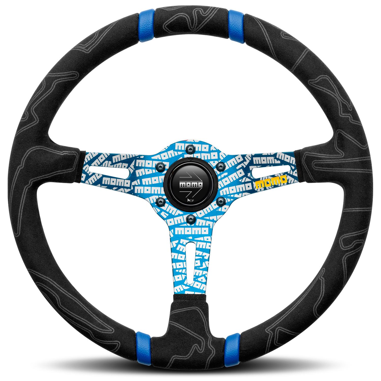 Momo Tuning-Lenkrad Ultra, blau (020605B)