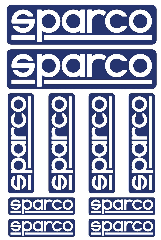 Sparco Sticker-Set