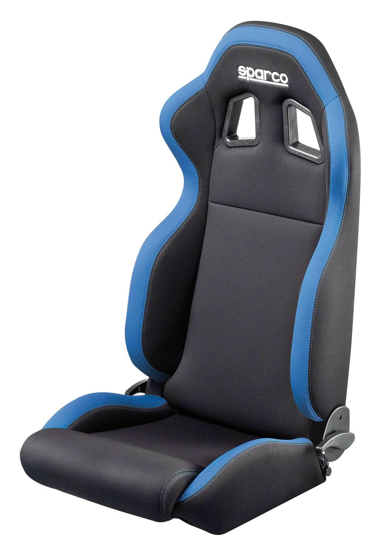 Sparco Sportsitz R100, schwarz/blau (2033SB)