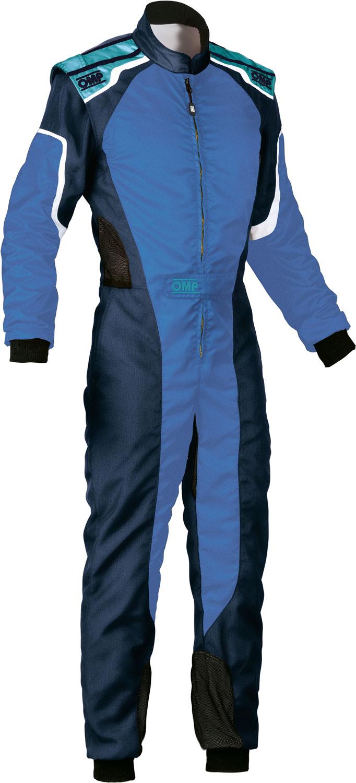 OMP Kartoverall KS-3, dunkelblau/blau