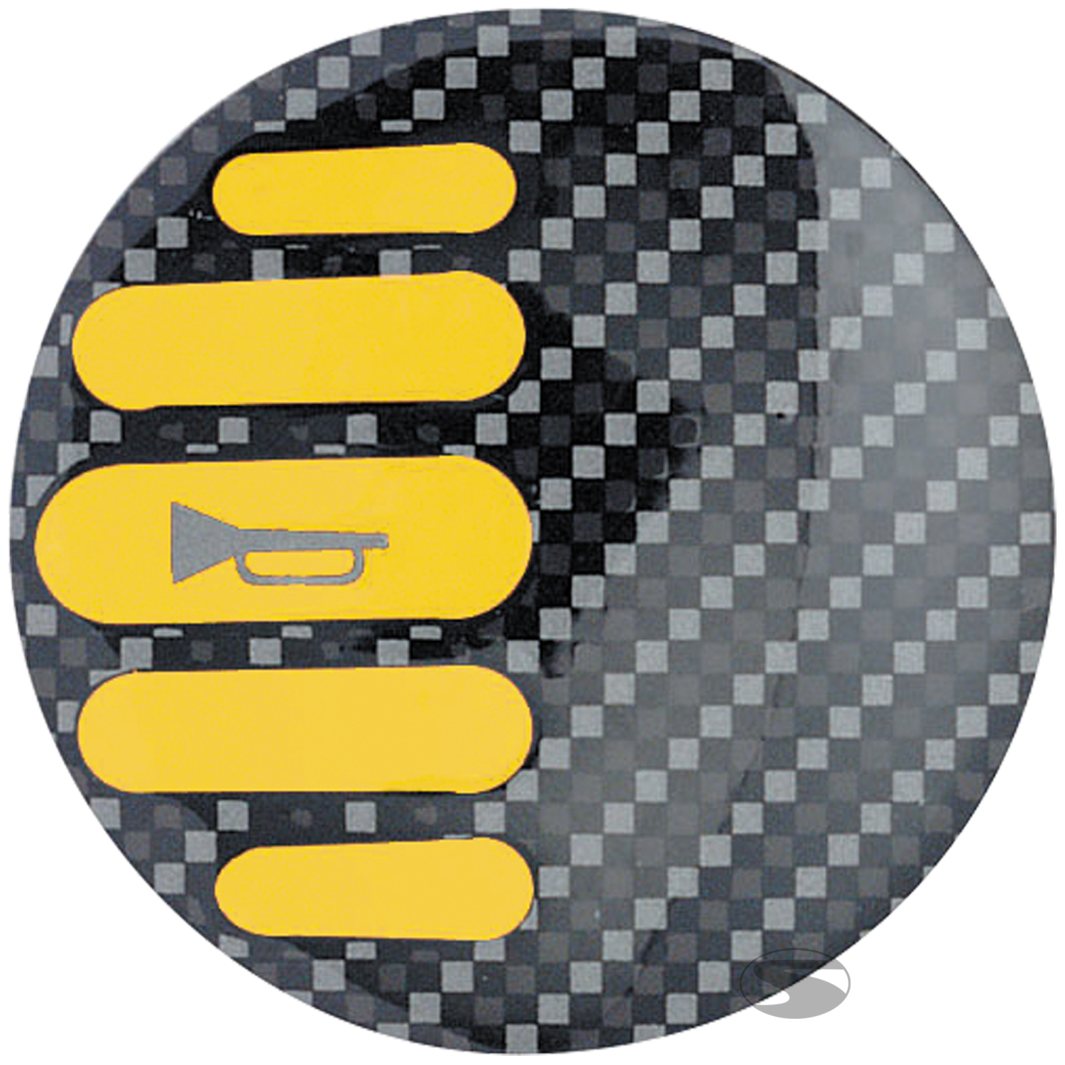 Sparco Hupenknopf-Emblem