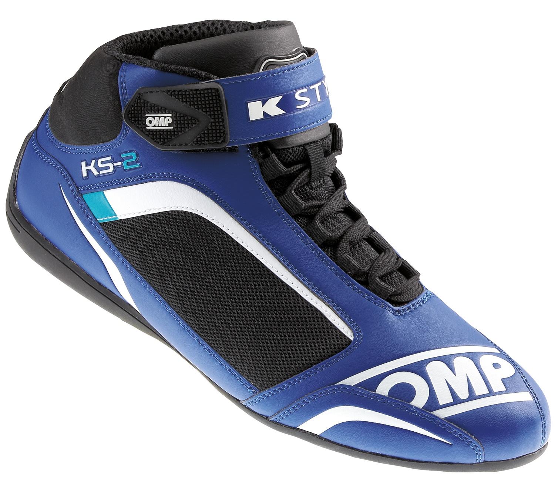 OMP Kartschuh KS-2, blau/schwarz
