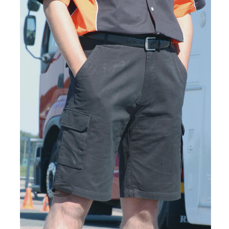 Teamwear Hose Cargo, schwarz