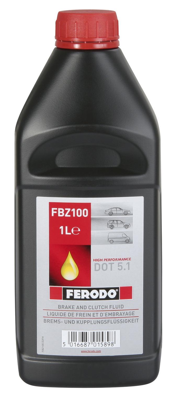 Ferodo Racing DOT 5.1 (1 Liter), 360003