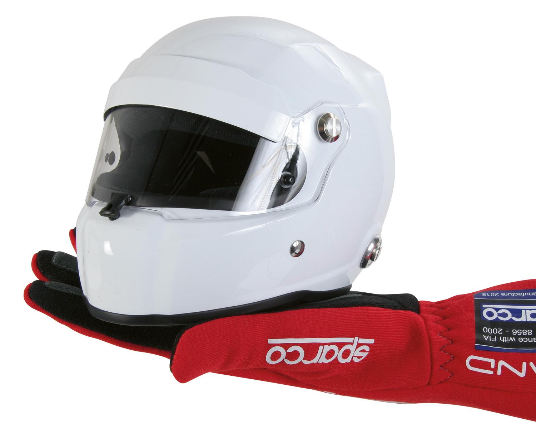 Stilo Mini Helm, weiß