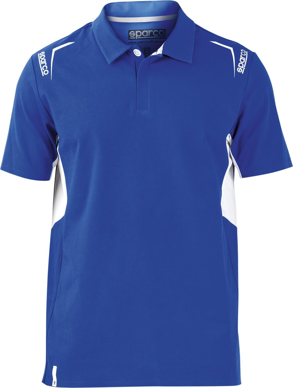 Sparco Poloshirt, blau