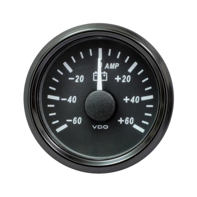 VDO SingleViu Amperemeter 60A