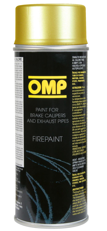 OMP Fire Paint gold