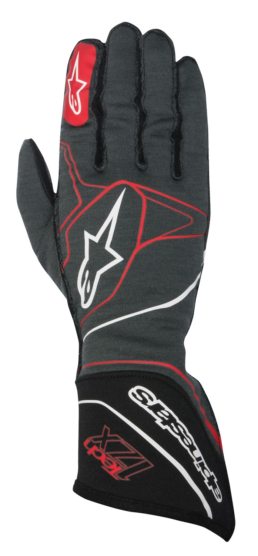 Alpinestars Handschuh Tech 1ZX, anthrazit/rot