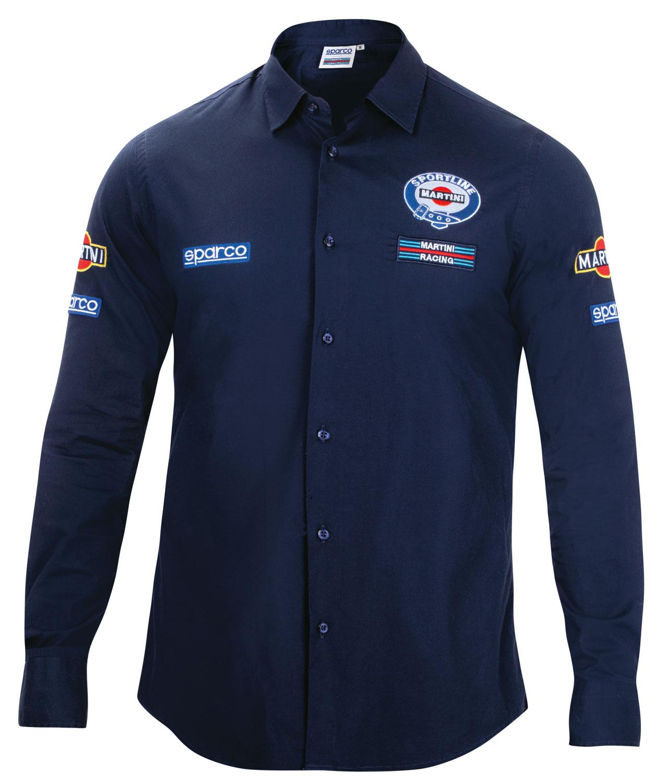 Sparco Langarm Hemd Martini Racing