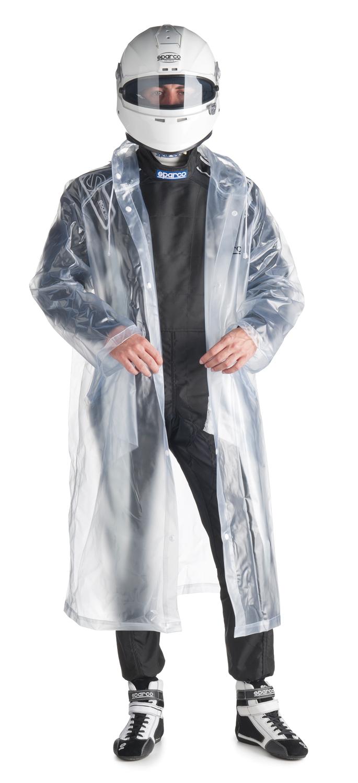 Sparco Regen-Cape, transparent