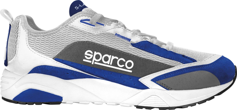 Sparco Sneaker S-Lane, blau/weiß