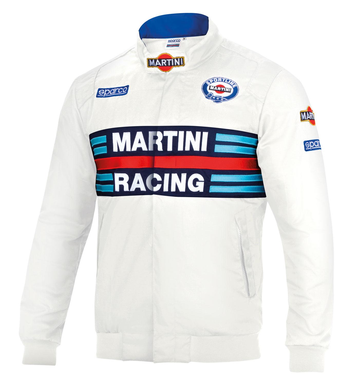 Sparco Jacke Martini Racing, weiß