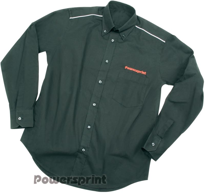 Powersprint Hemd Langarm, schwarz