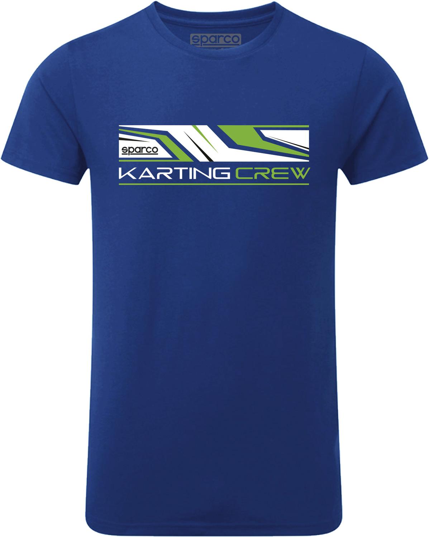 Sparco T-Shirt 1977, blau
