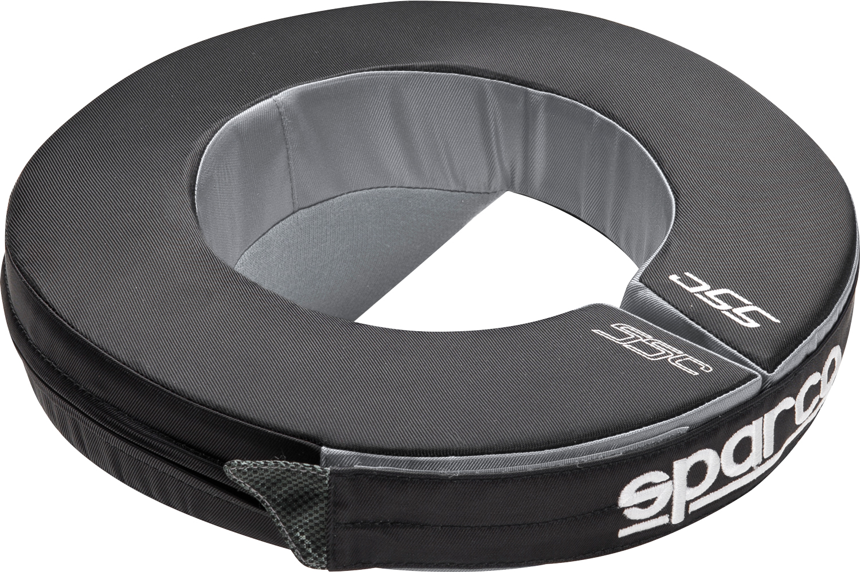 Sparco Nackenstütze Tondo, schwarz/grau