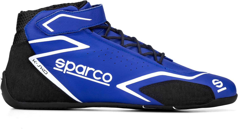 Sparco Kartschuh K-SKID, blau/schwarz