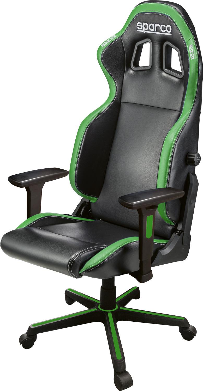 Sparco Bürostuhl Icon, schwarz/grün