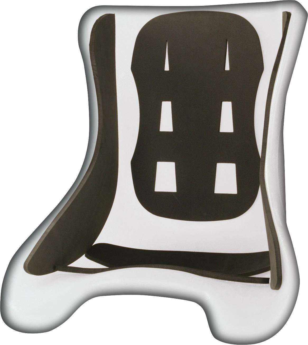 OMP Kart Sitzpolster Set, schwarz