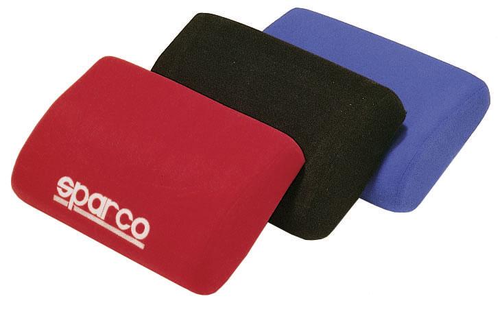 Sparco Beinauflage, schwarz, rot, blau (2041)