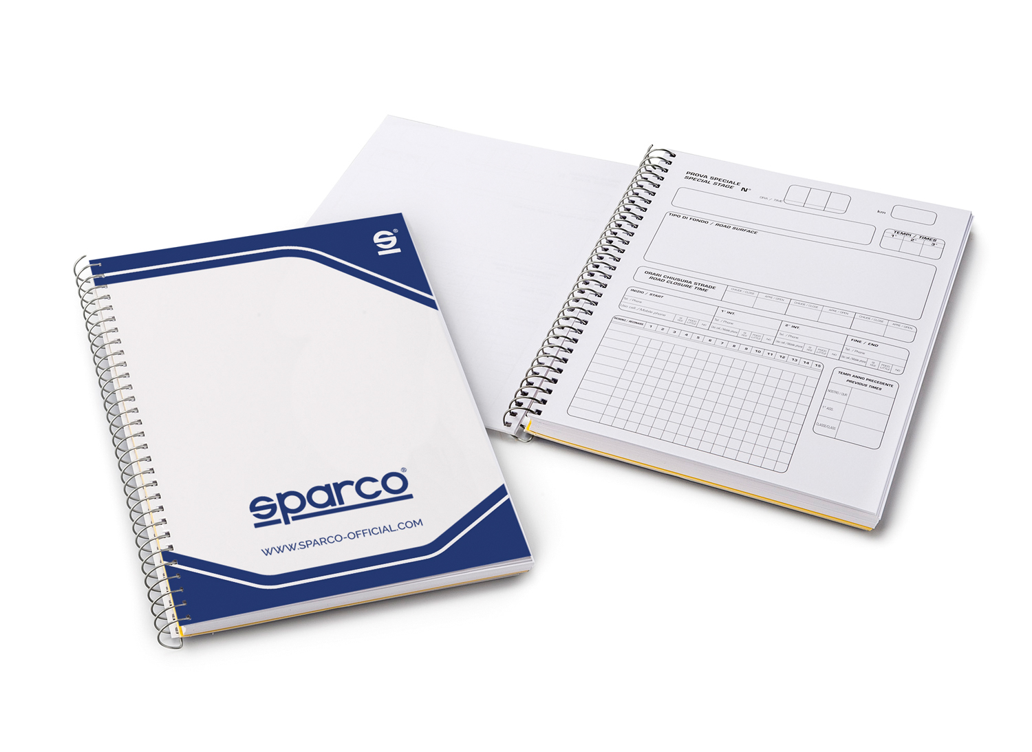 Sparco Pace-Note-Book